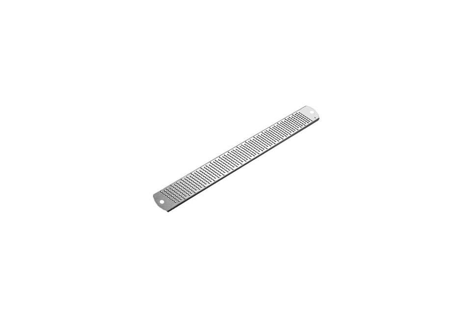Steal This Look Smart Storage in a Swedish Kitchen TheMicroplane Classic Stainless Steel Zester is \$9.95 at Cutlery &More.