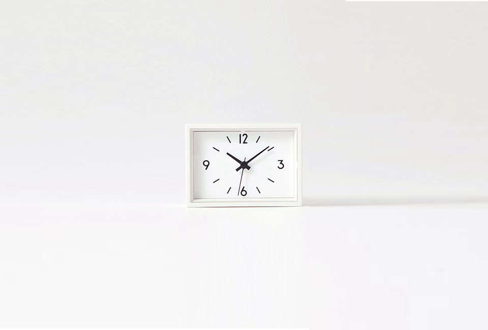 The Station Clock Mini from Muji has a magnetic back; $36.