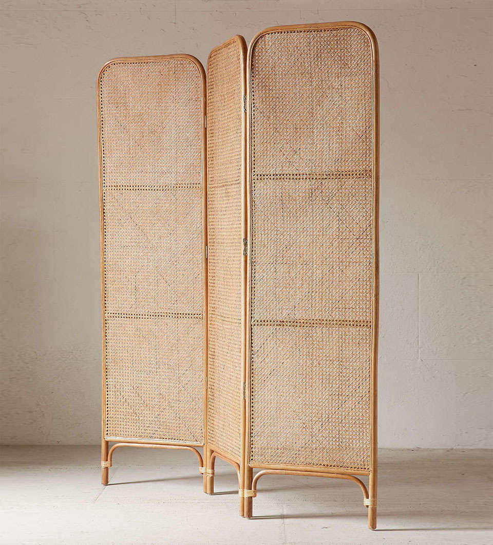 urban outfitters rattan screen room divider 21