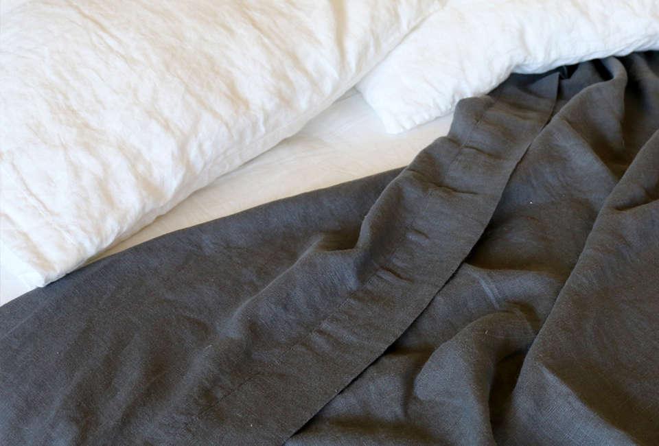 Rough Linen Orkney Sheets