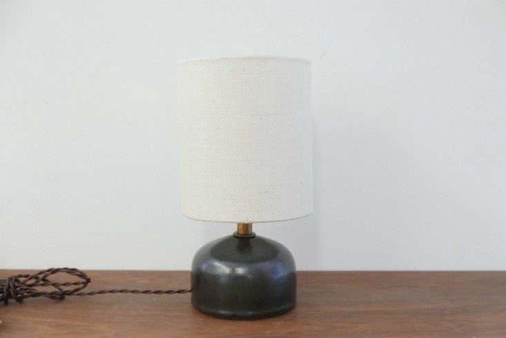 victoria morris black stoneware mini lamp remodelista 733x490 11