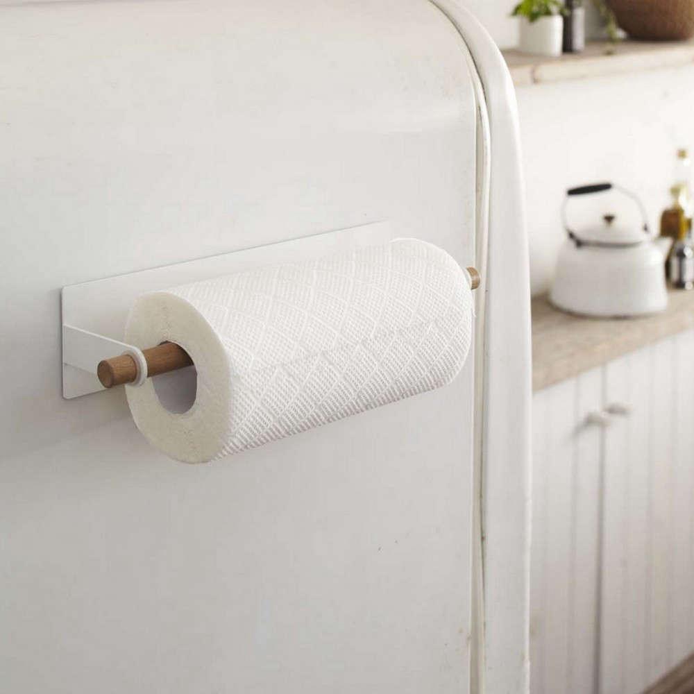 yamazaki-tosca-magnetic-paper-towel-holder
