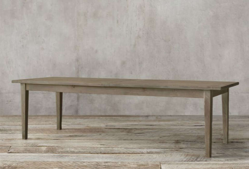the \1900s boulangerie rectangular extension dining table is available in six d 21
