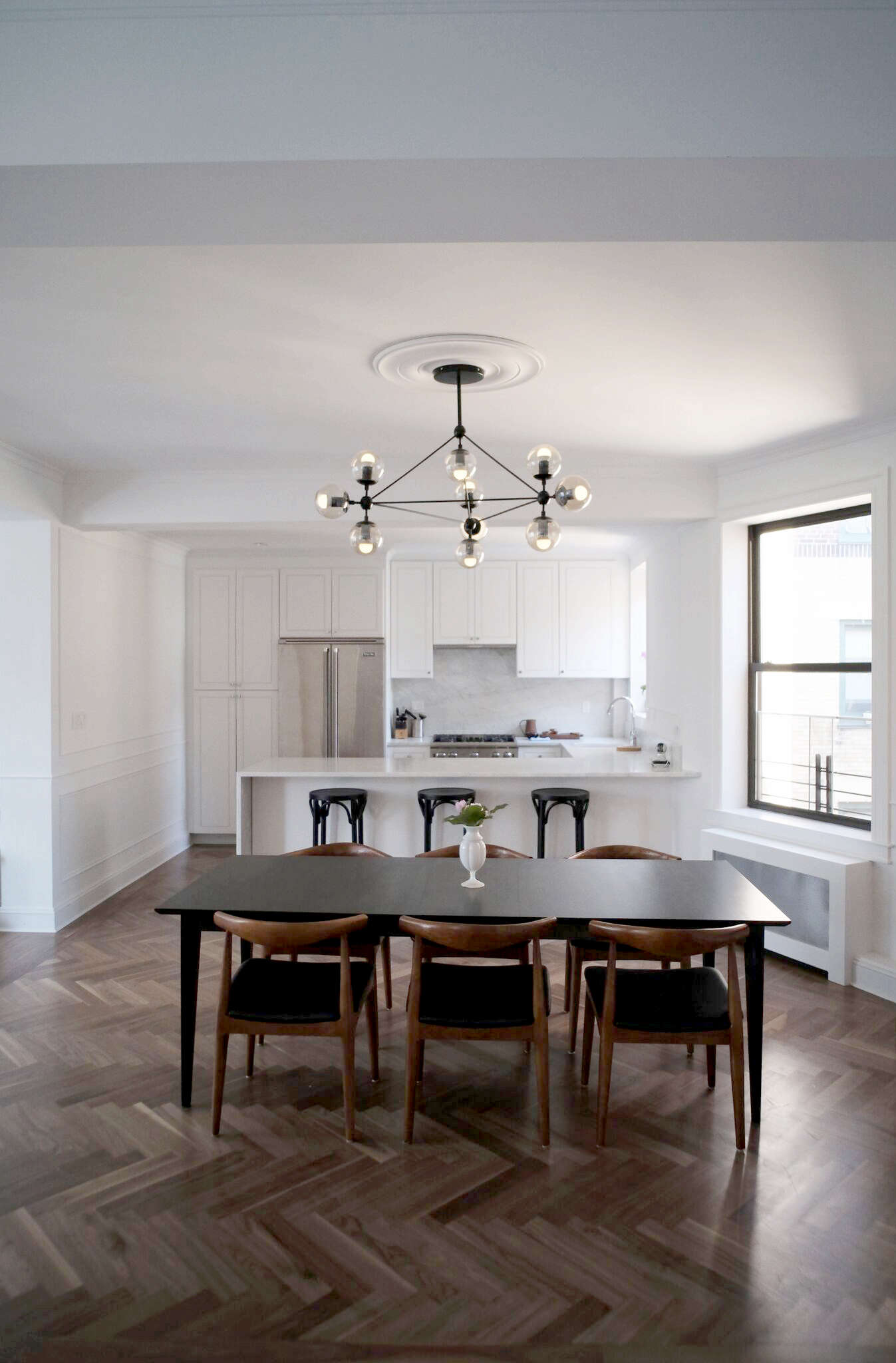 Brooklyn Heights Apartment Remodel by Space Exploration | Remodelista
