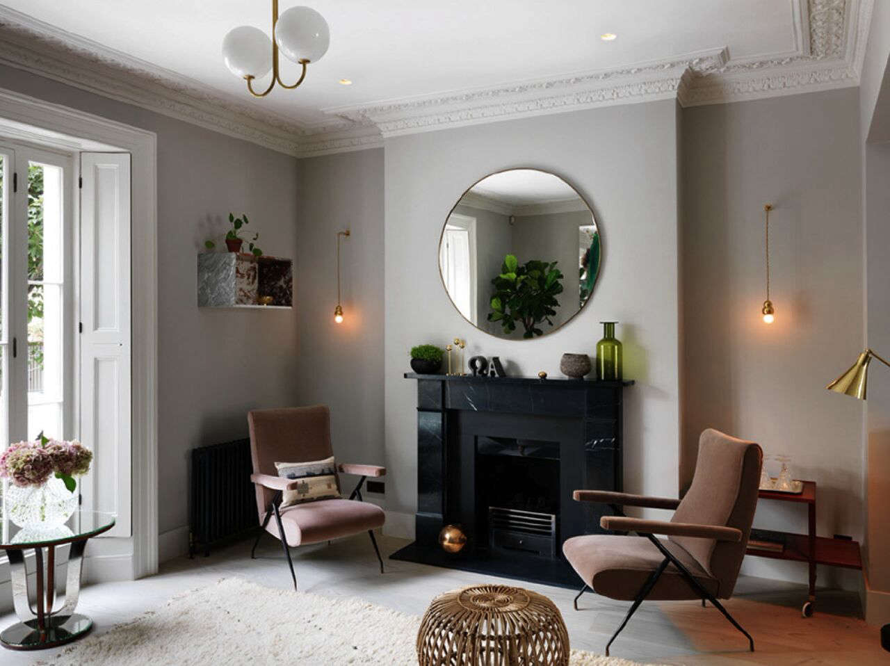 A Notting Hill Townhouse Tailored for Living by Charles Mellersh High style vintage and contemporary in a Notting Hill town house by interior designer Charles Mellersh   Remodelista