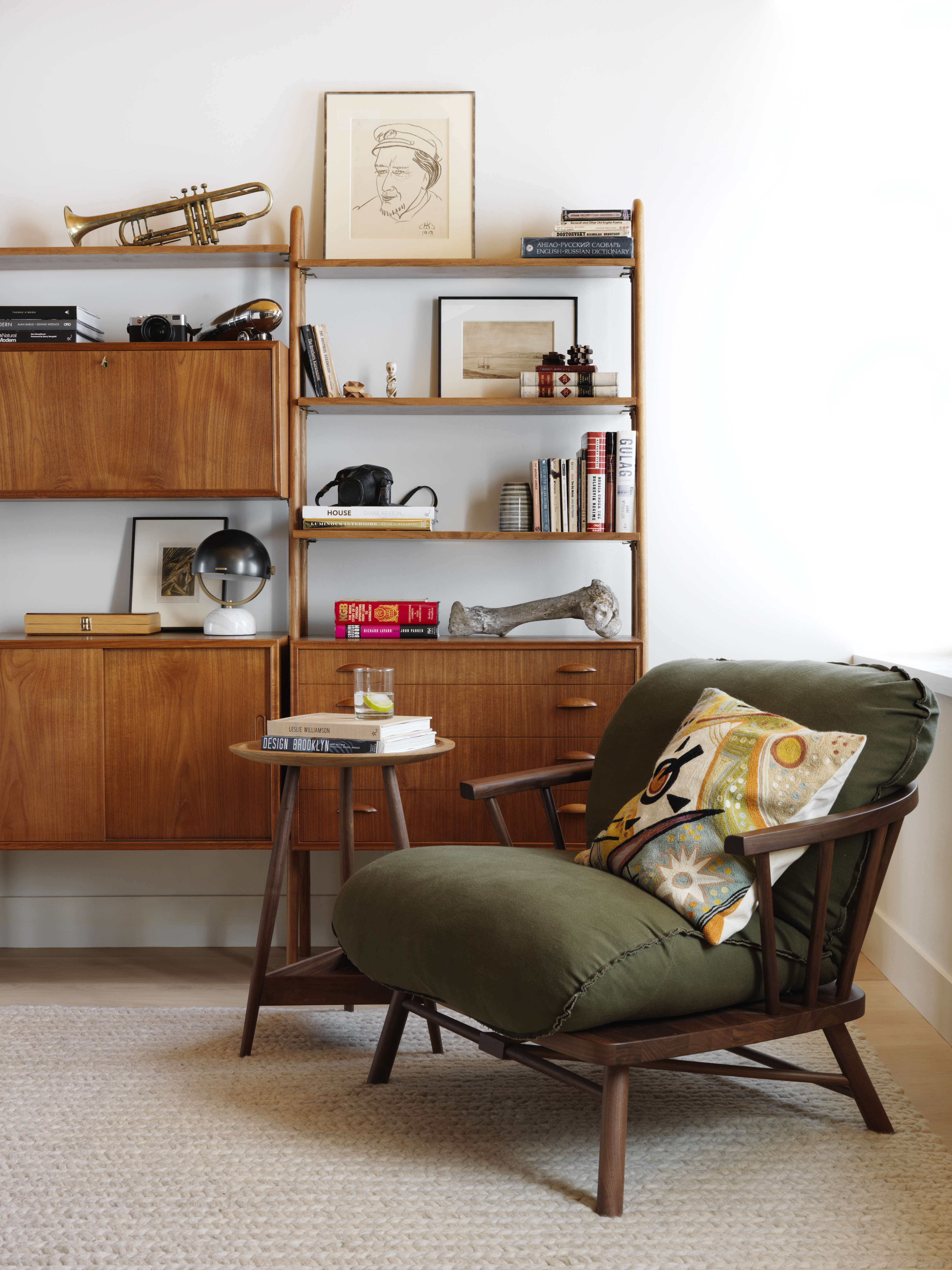 Guest room Fox Hall by BarlisWedlick | Remodelista