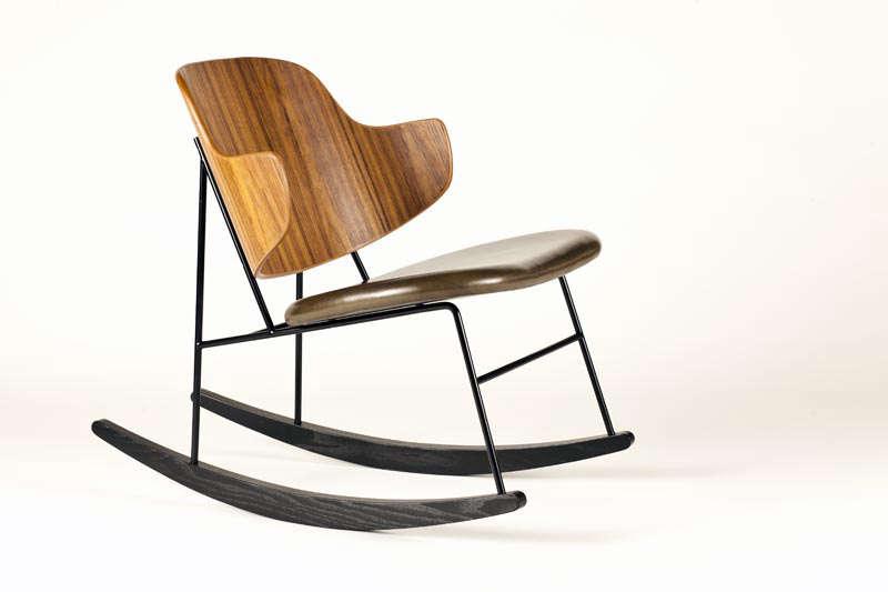 Object Lessons The Penguin Chair a Midcentury Best Seller Is Back Petersen Penguin rocker Brdr.Petersens | Remodelista