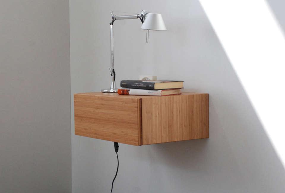 italian designer angelo cavallaro ebanista makes a bamboo floating bedside tabl 19