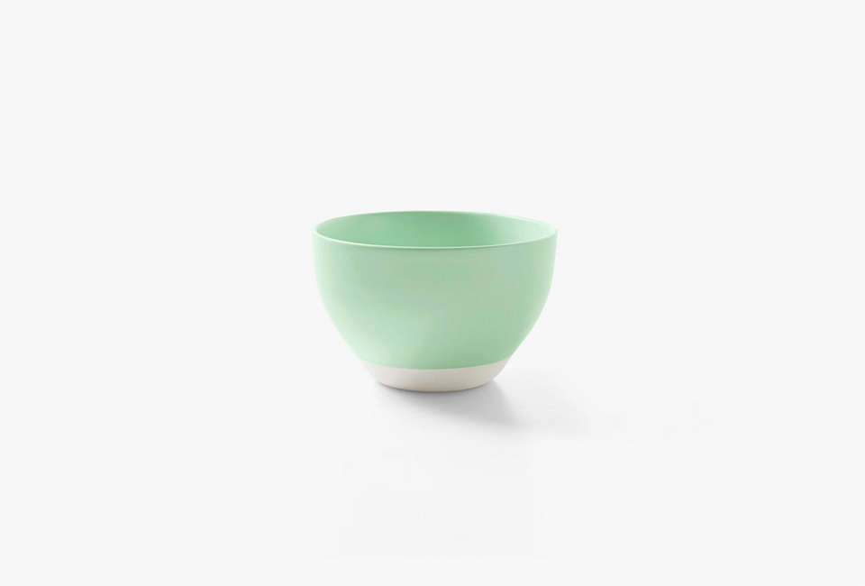 aura kali tall bowl in peppermint 15