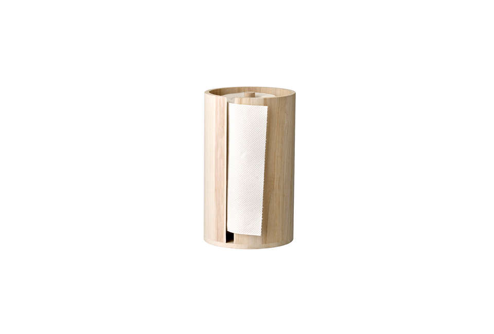 Bloomingville Wooden Kitchen Paper Stand