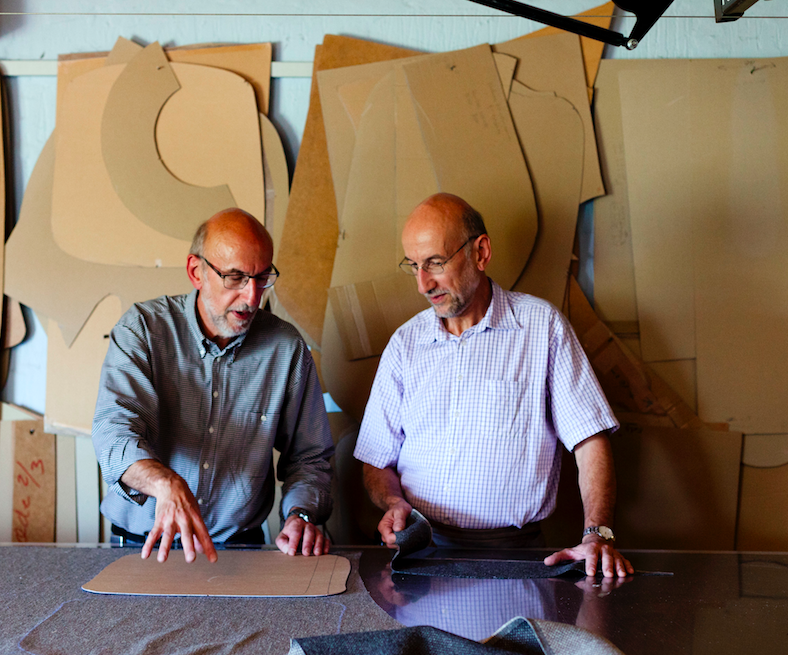 Object Lessons The Penguin Chair a Midcentury Best Seller Is Back Twind Egon and Erling Petersen of Brdr. Petersen, makers of modern upholstered furniture in Denmark | Remodelista