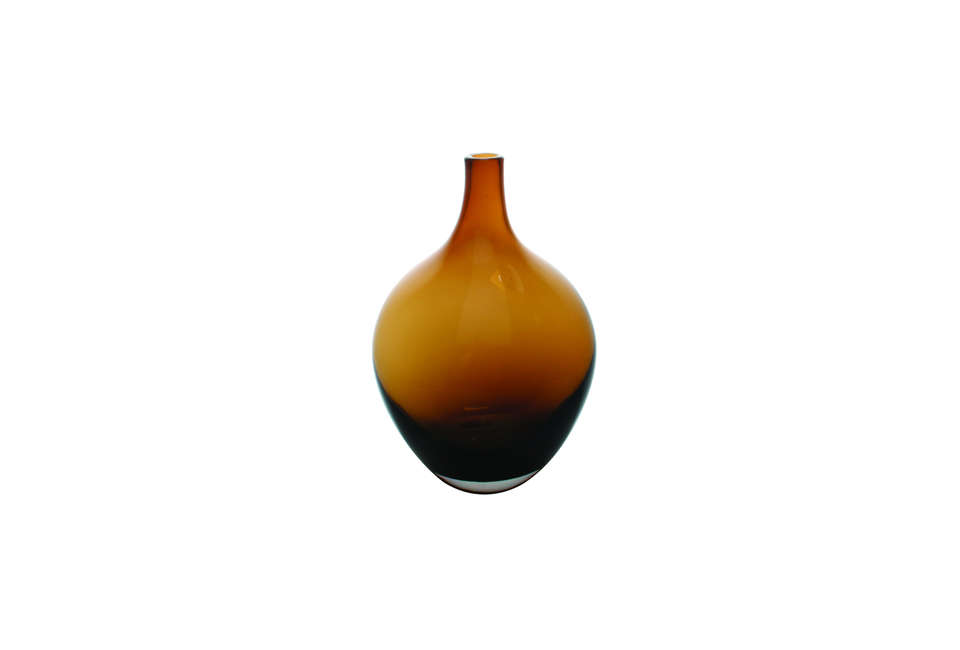 Canvas Home Fieso Amber Glass Vase