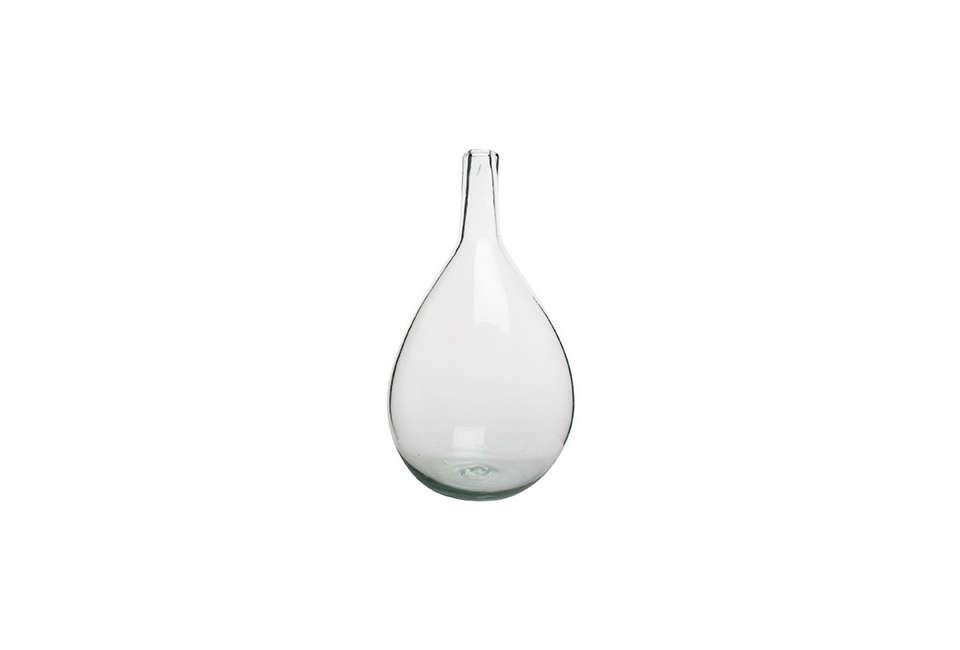 Canvas Home Porcio Clear Glass Vase