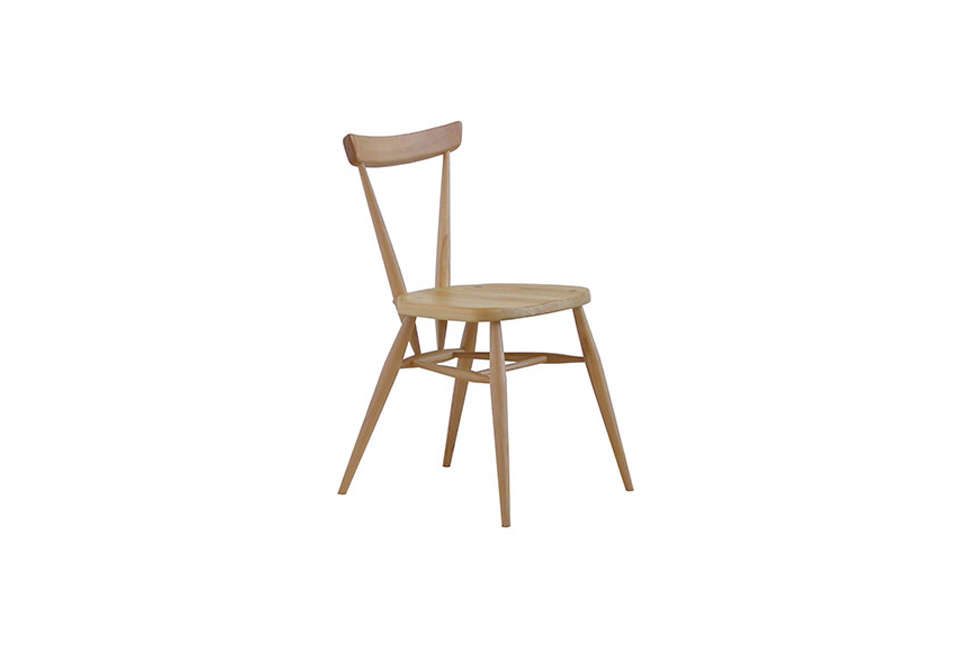 Ercol Originals Stacking Wood Chair