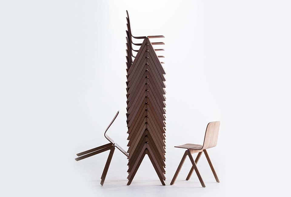 HAY Copenhagen Chair in Lacquered Oak