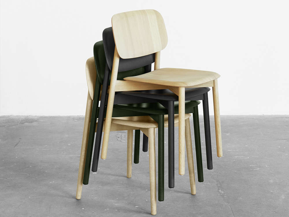 HAY Soft Edge Chair in Wood