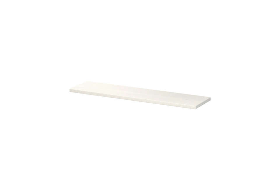 Ikea offers several basic white shelving options. The Ekby Hemnes, 3src=