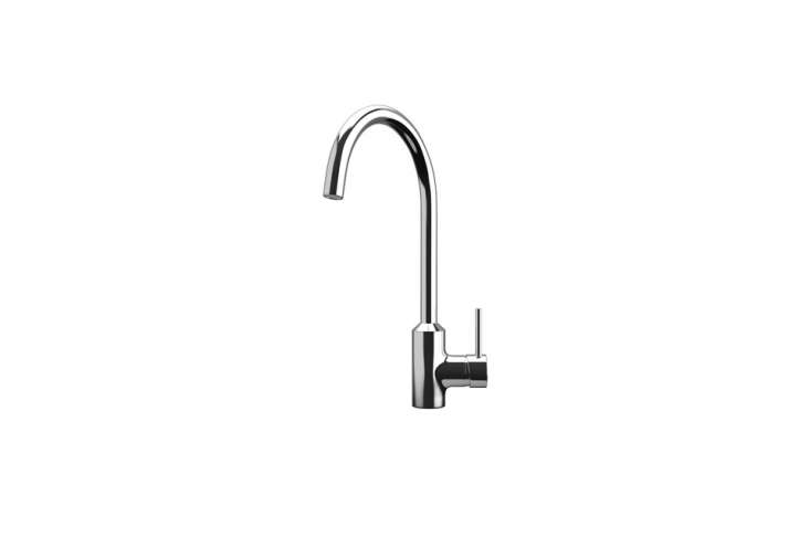 The Ringskar Kitchen Faucet is shown in chrome-plated brass. Also available in stainless steel and white finishes, it comes with a -year warranty; $99 at Ikea. And the Ringskar Kitchen Faucet with Pull-Down Spout in a stainless finish is $99.