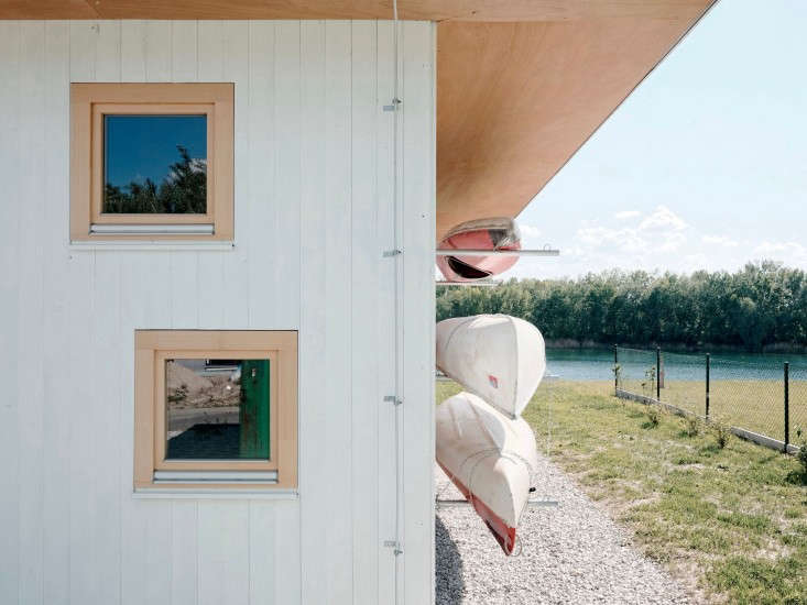 Michelle tours an architect-designed lake house Once More to the Lake: A Family Holiday House in Slovakia.