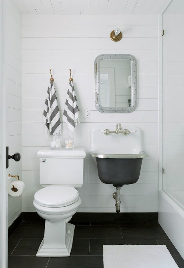 Jenny Wolf Interiors Compact Family Bath