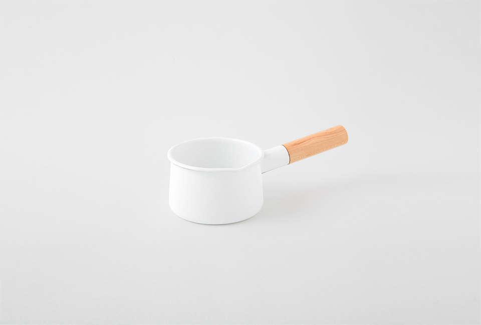 a kaico enamel milk pan is \$75 at nalata nalata. 31