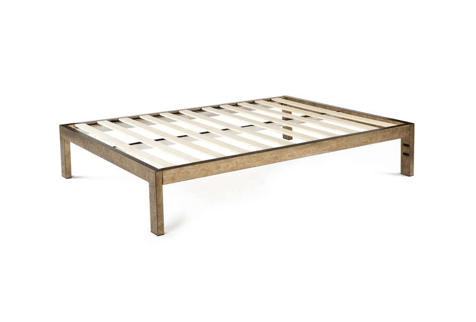 Keetsa Gold Brushed Steel Bed Frame