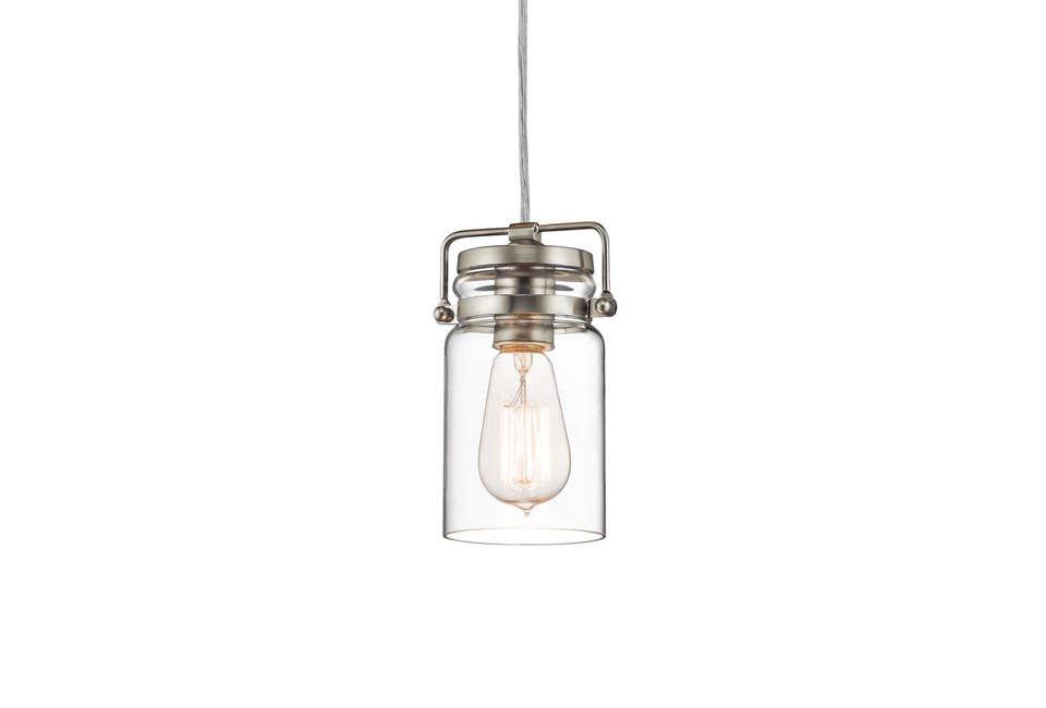 kichler brinley jar style pendant light 12