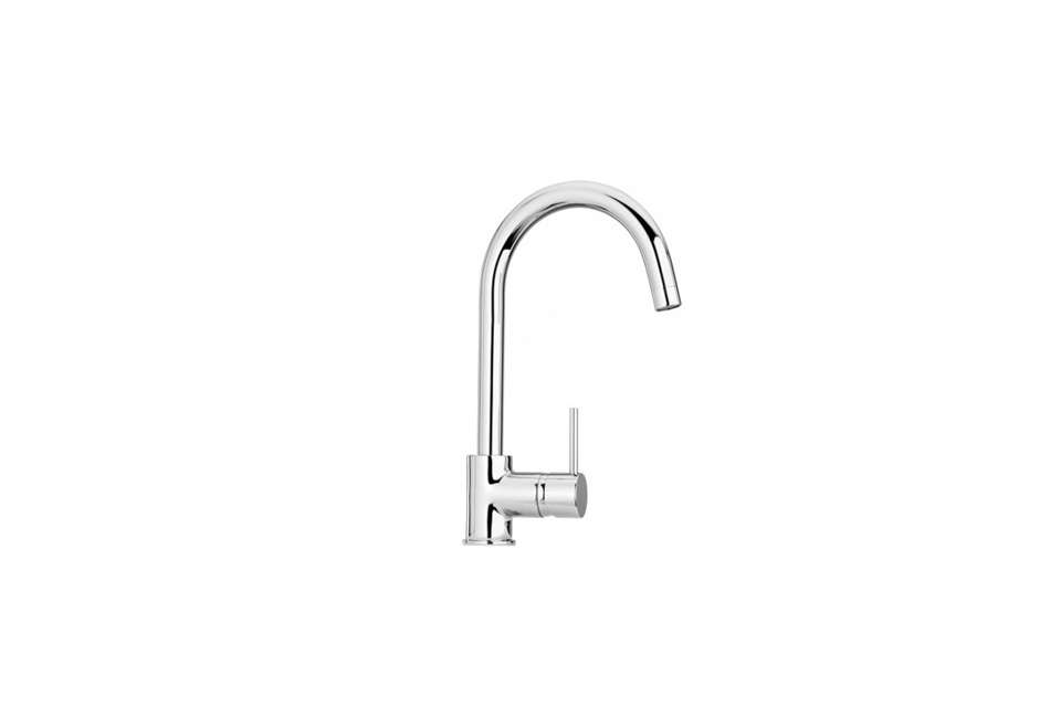 Alice Park of Park McDonald architects in LA chose the made-in-Italy Paini Cox Single Handle Pull Down Faucet as her affordable pick. (N.B.: Paini is also known as La Toscana in the US.) The faucet starts at $src=