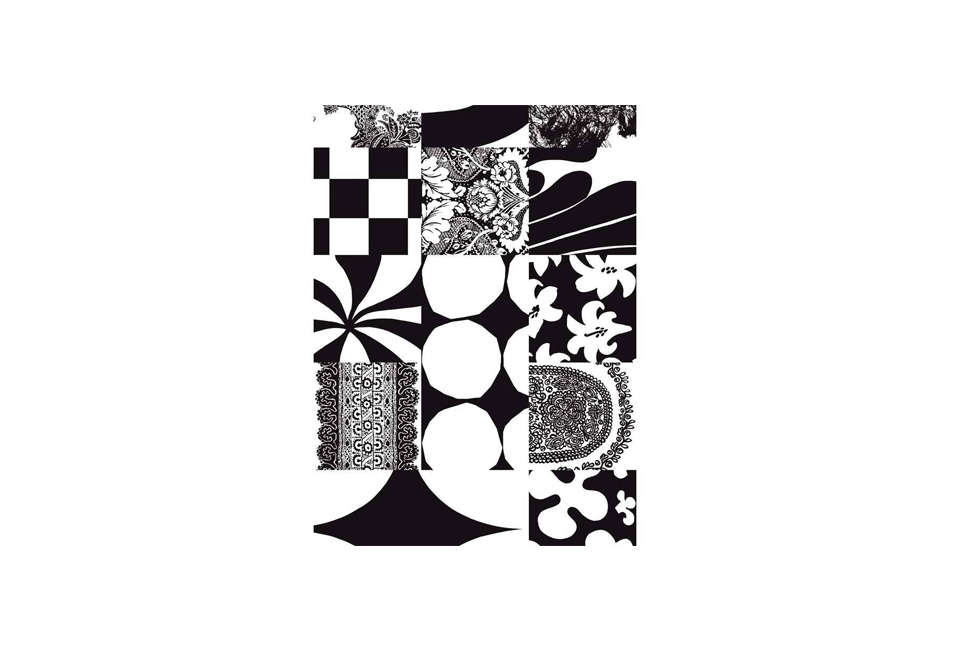 The tablecloth is Marimekko cotton yardage in the patchworkYhdessä pattern; it&#8