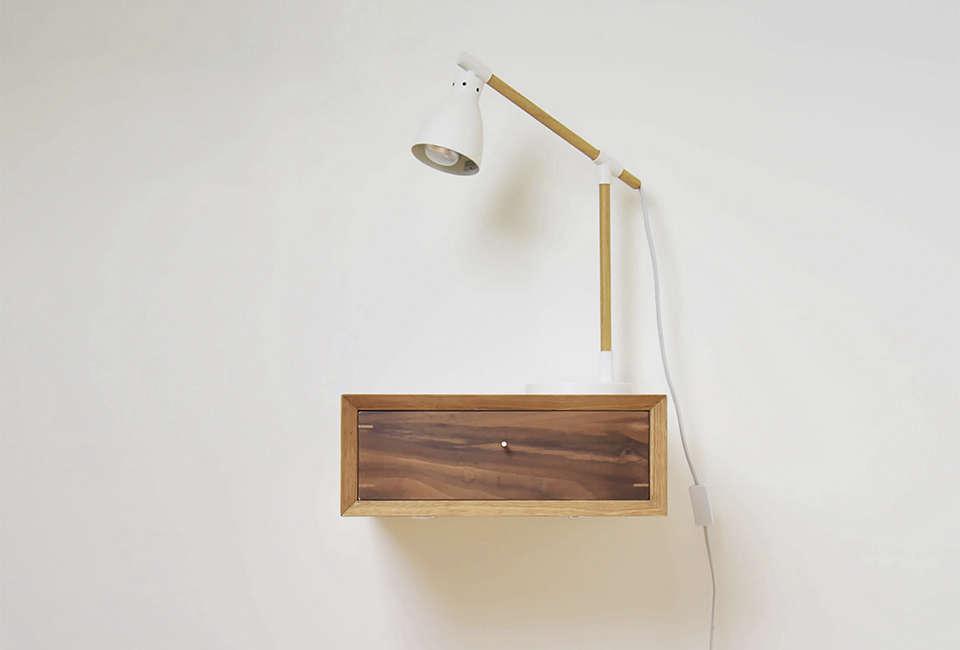 factorytwentyone in the uk makes a midcentury style floating oak nightstand mad 15