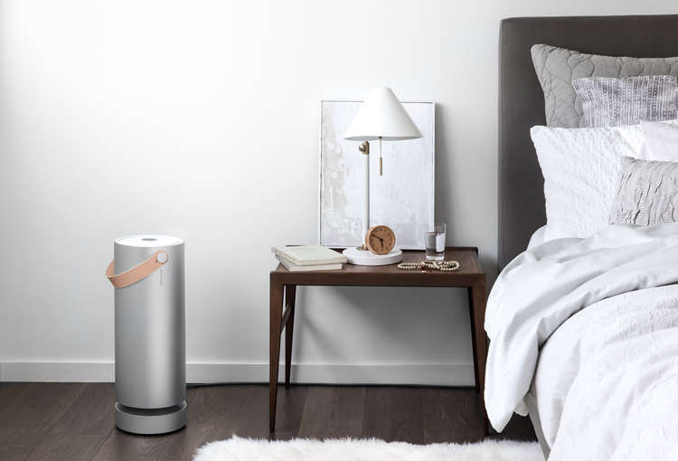 A pick from our post  Easy Pieces: Good-Looking (and Effective) Air Purifiers: The WiFi-enabledMolekule air purifier from a San Francisco startuphas a leather handle for portability. To join the waiting list, go to Molekule.