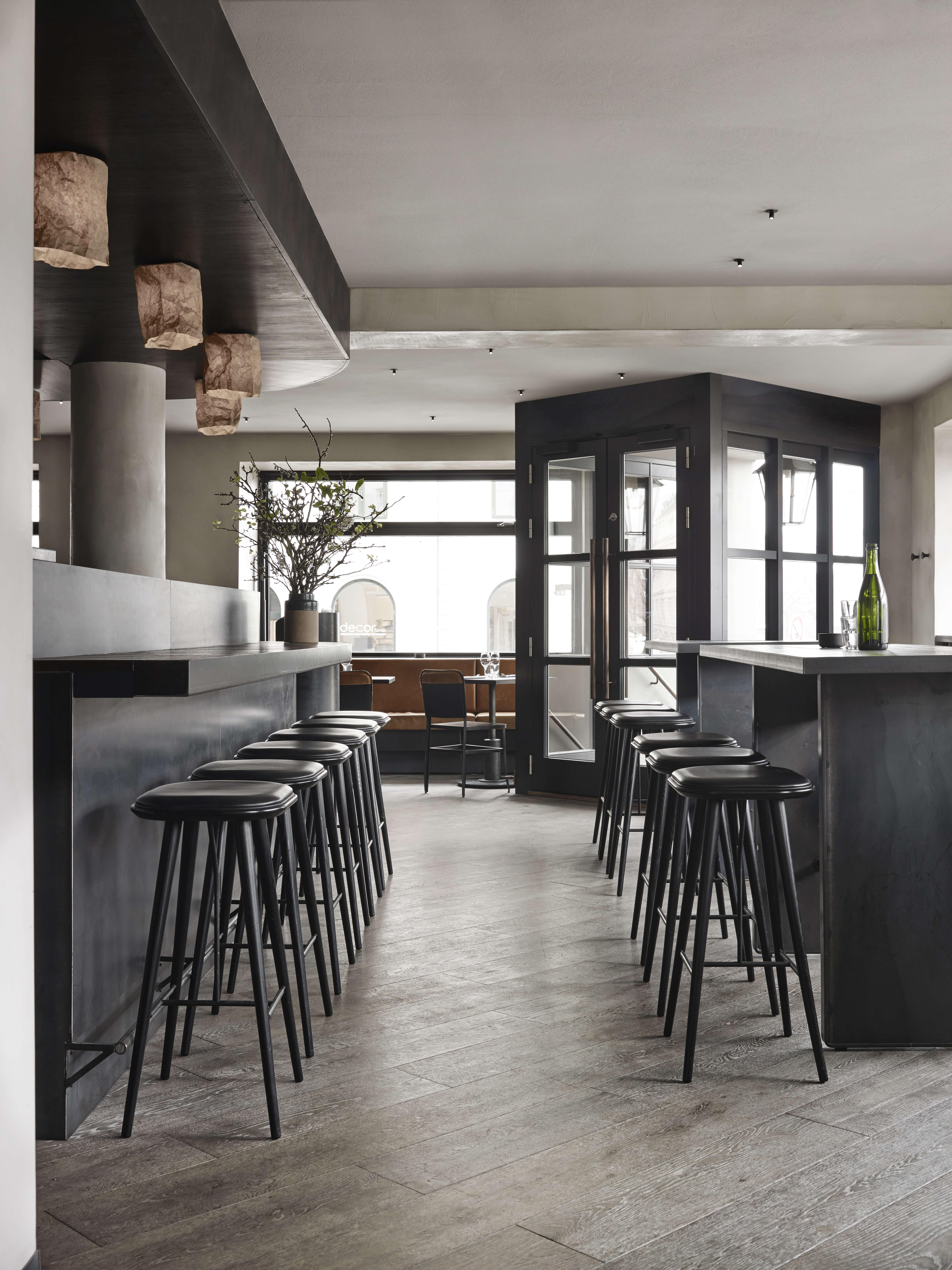 Musling Restaurant in Copenhagen Designed by SPACE Copenhagen