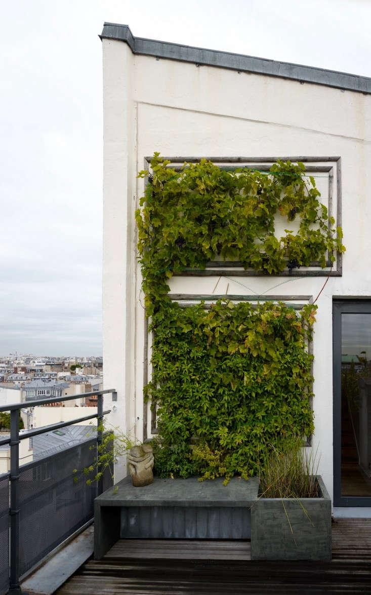 michelle visits a quiet garden escape insecret paris: a tiny roof garden with 13
