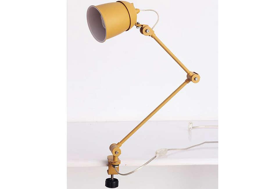 Playn Yellow Clamp Lamp