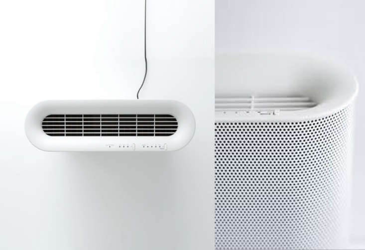 plus minus zero's air filter uses an antibacterial hepa filter with an anti o 13
