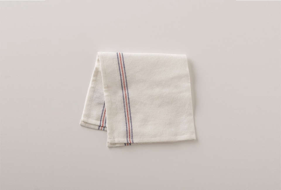The gauze-like Utility Napkin, $6 from Schoolhouse, is handwoven by fair-trade artisans in India. We also like using Ikea&#8