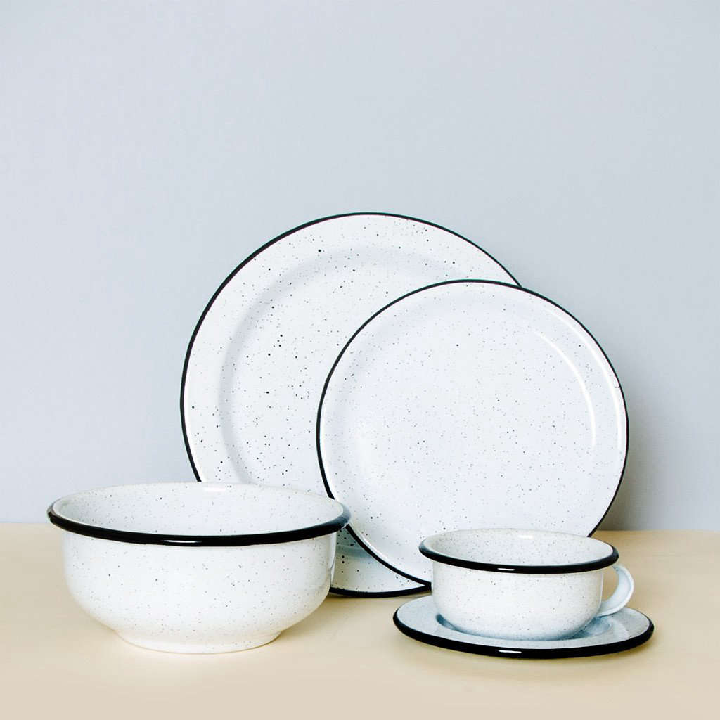 Colombian Enamelware Dining Set from Someware