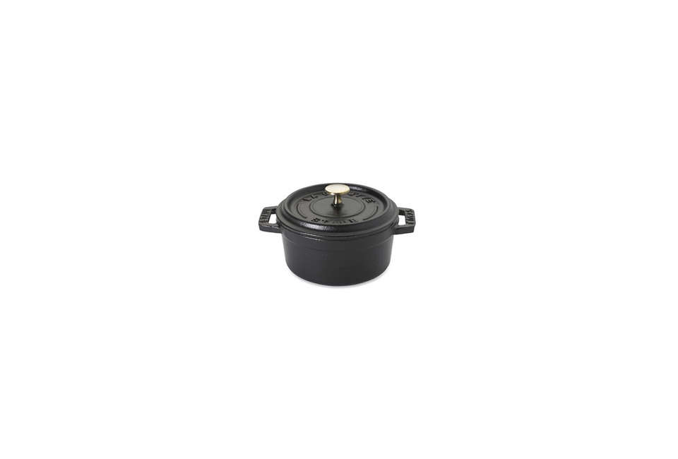 The French-madeStaub Cast-Iron Mini Cocottein matte black is $85 at Williams-Sonoma. Looking for more options? See Easy Pieces: Cast Iron Dutch Ovensand The World&#8