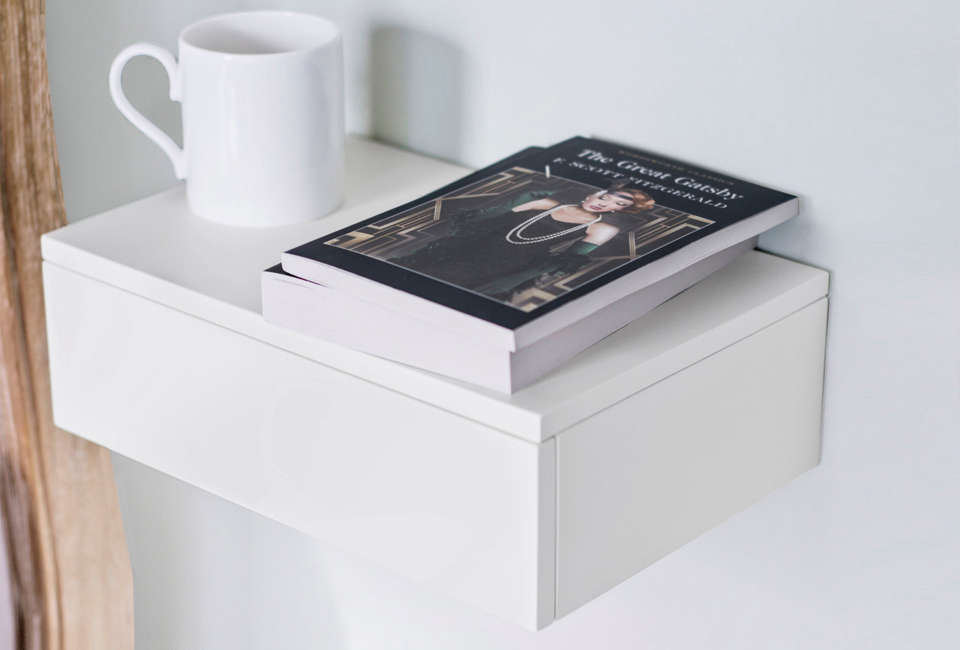 another shelf from urbansize: the floating bedside drawer in white painted beec 13