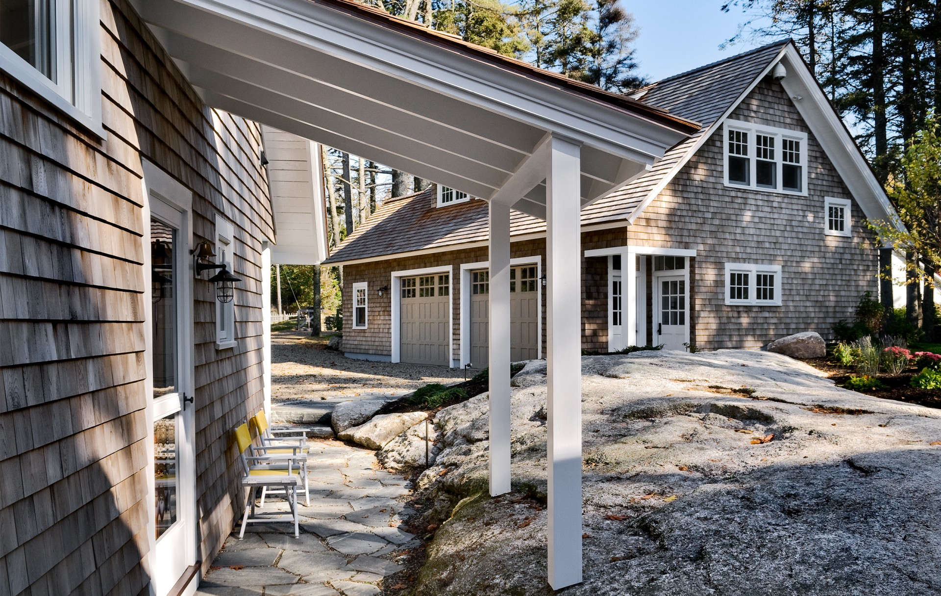 portland, maine–based whitten architects designed an expansion to a \19\15 sh 11