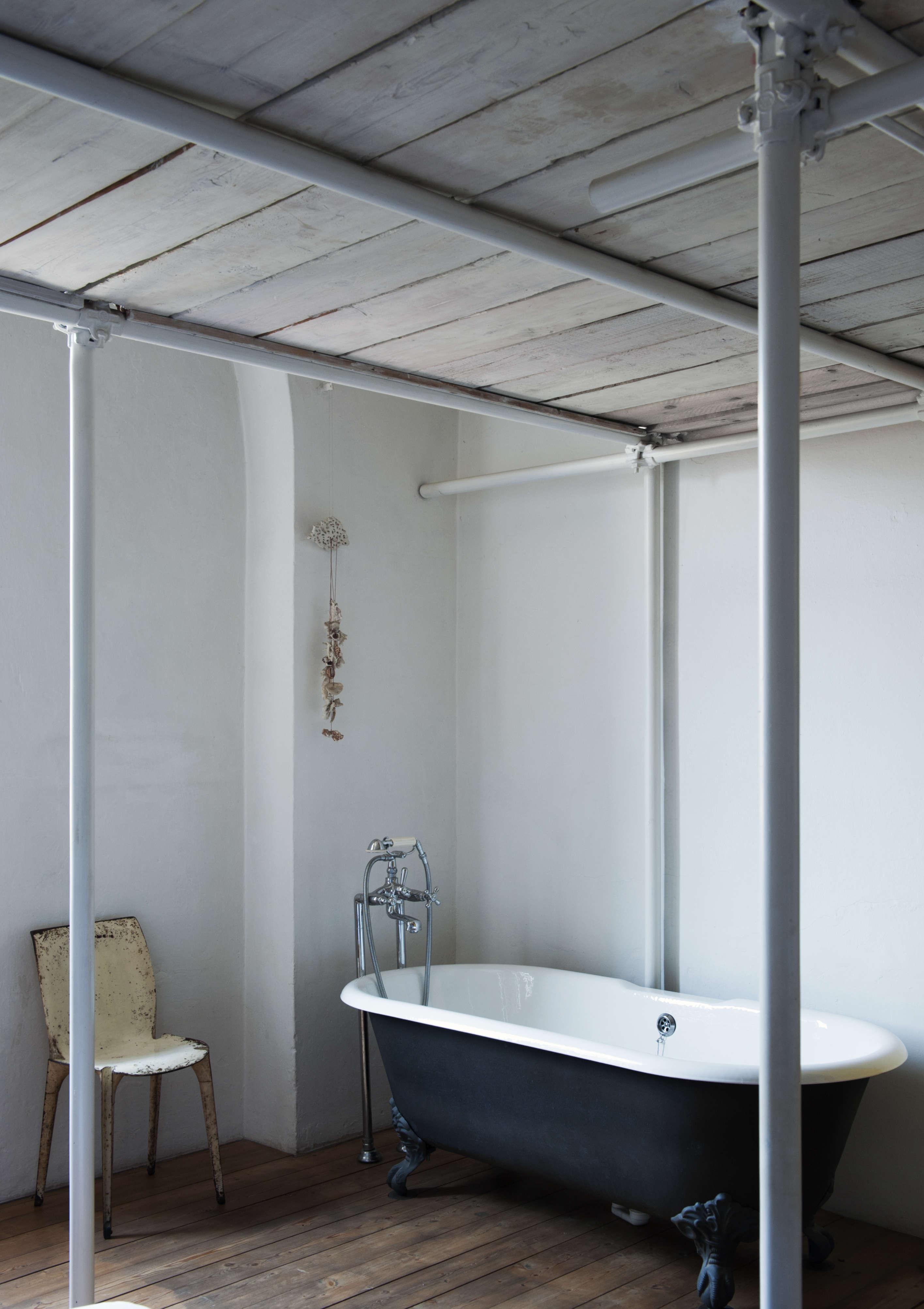 A RomanticIndustrial Milan Loft for a Bohemian Design Duo Bsbee Milan Loft Remodelista 2