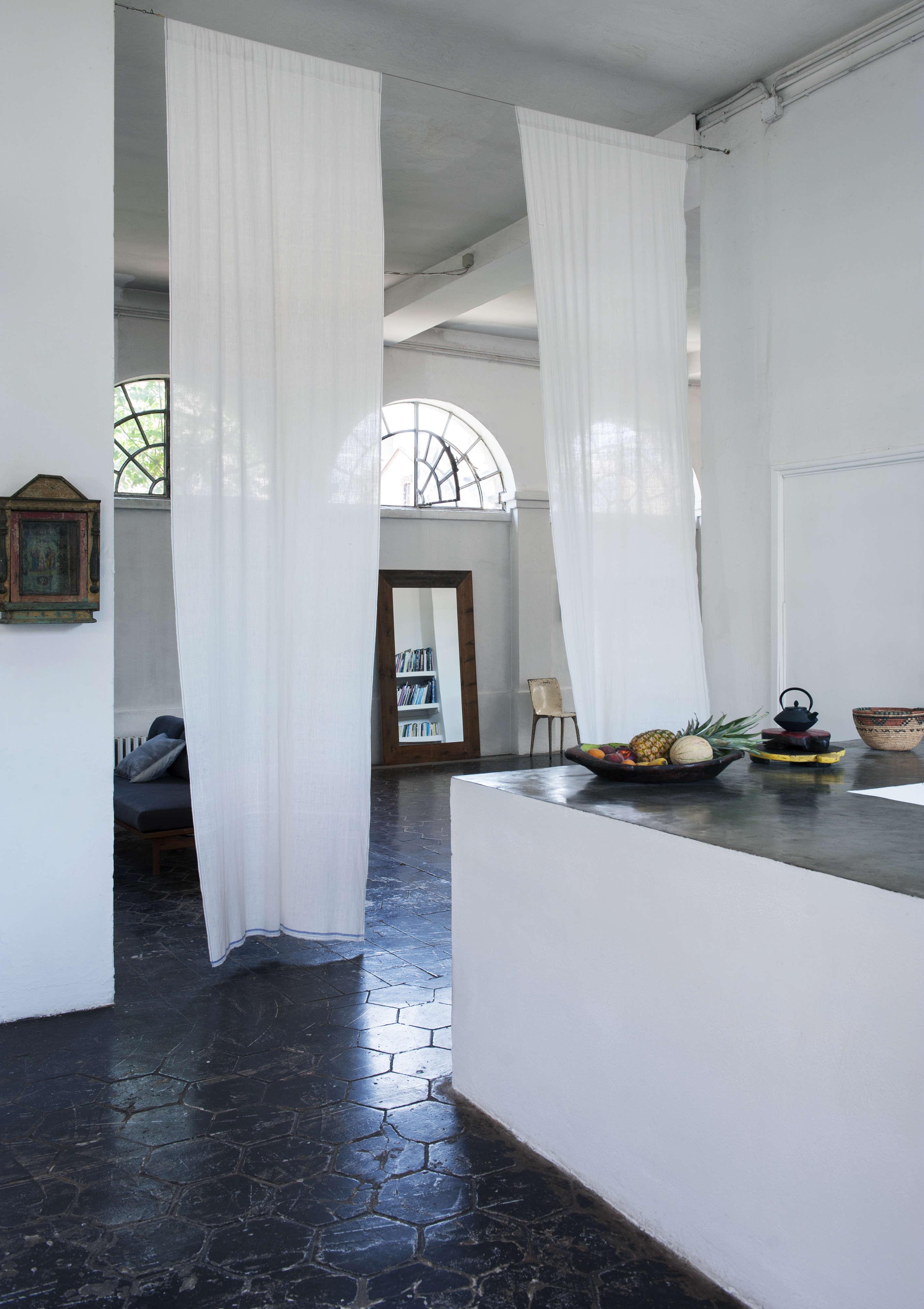 A RomanticIndustrial Milan Loft for a Bohemian Design Duo Bsbee Milan Loft Remodelista 4