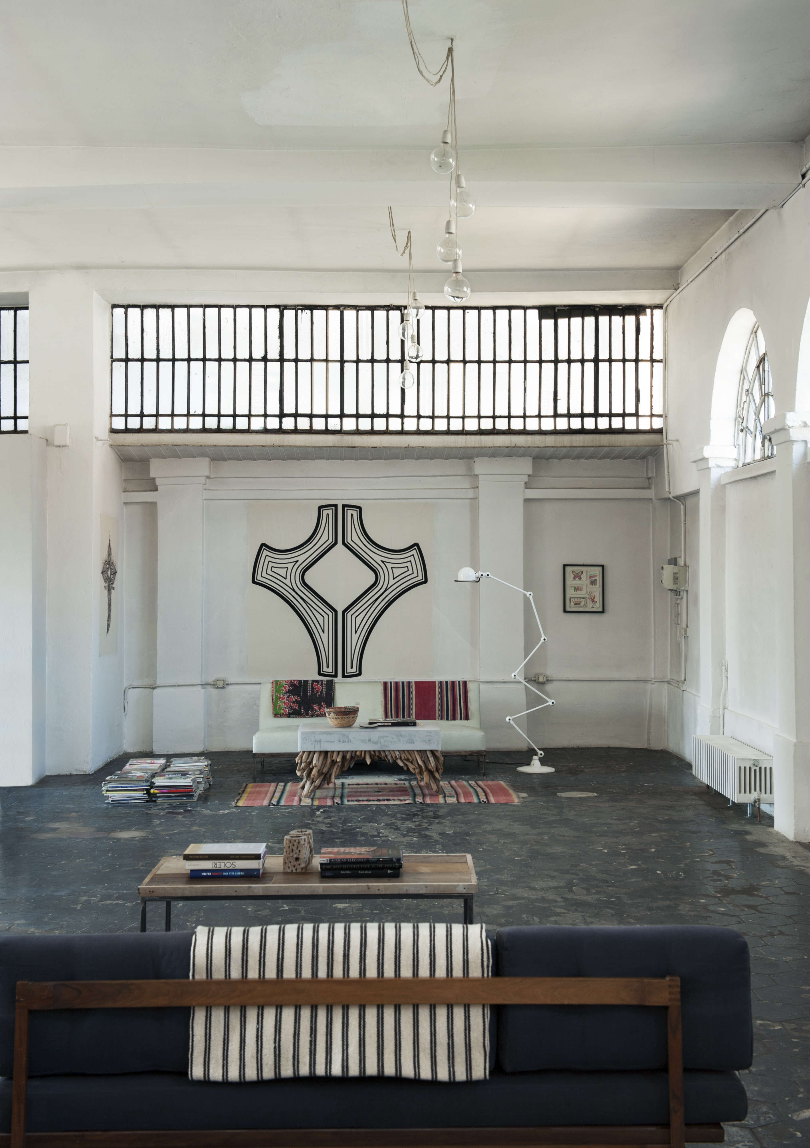 A RomanticIndustrial Milan Loft for a Bohemian Design Duo Bsbee Milan Loft Remodelista 7