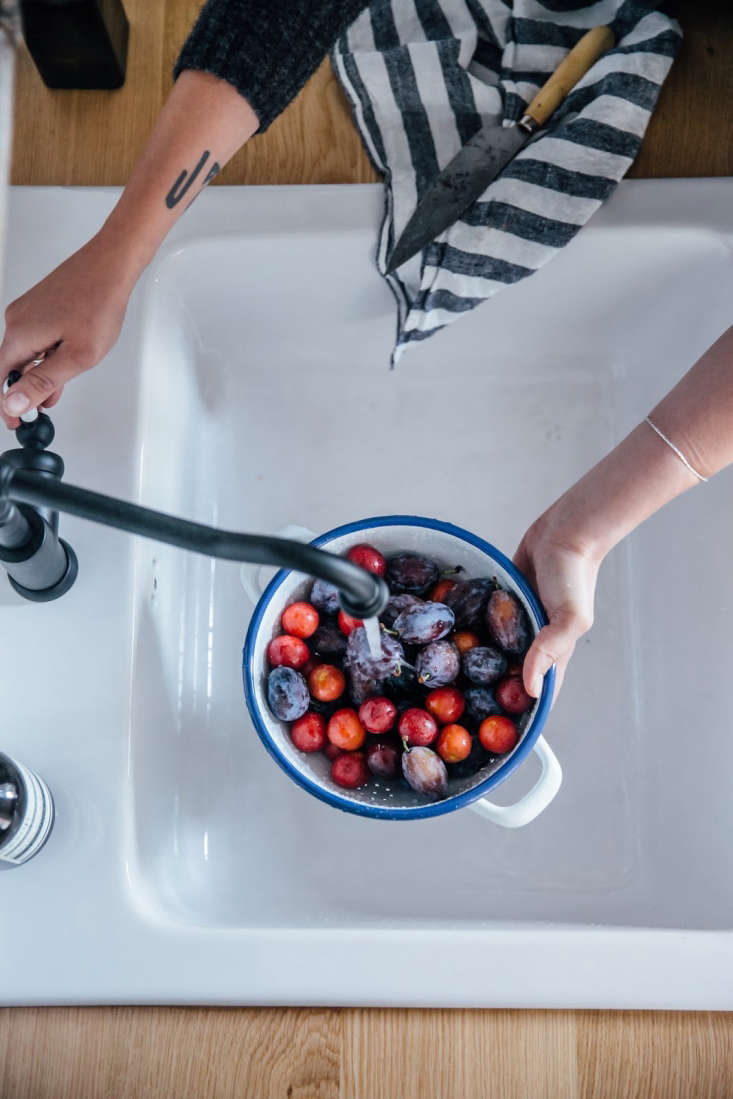 Photography byLaura Muthesius, courtesy of Our Food Stories, fromKitchen of the Week: A DIY Ikea Country Kitchen for Two Berlin Creatives.