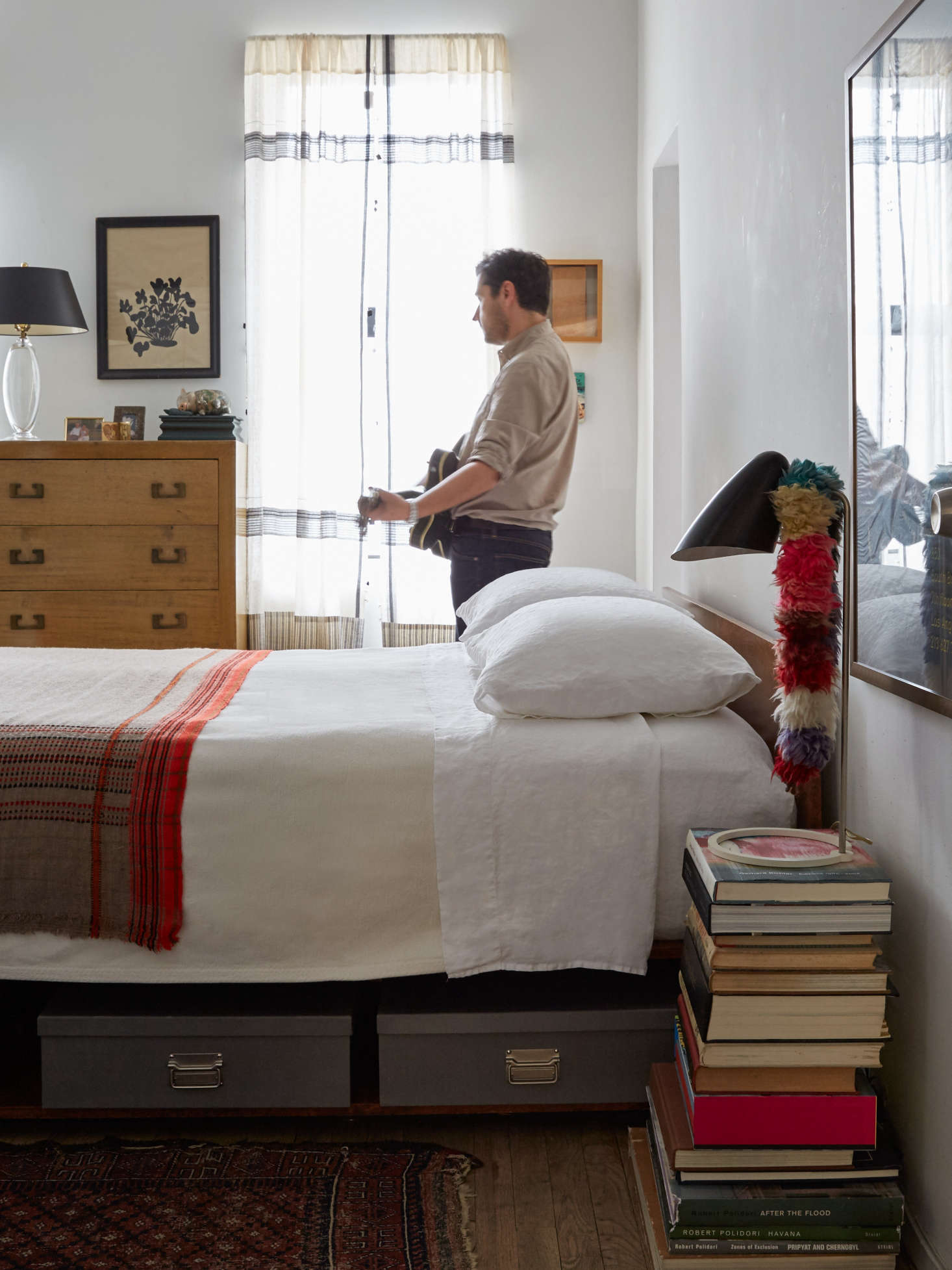 Small-space solutions: under-the-bed storage