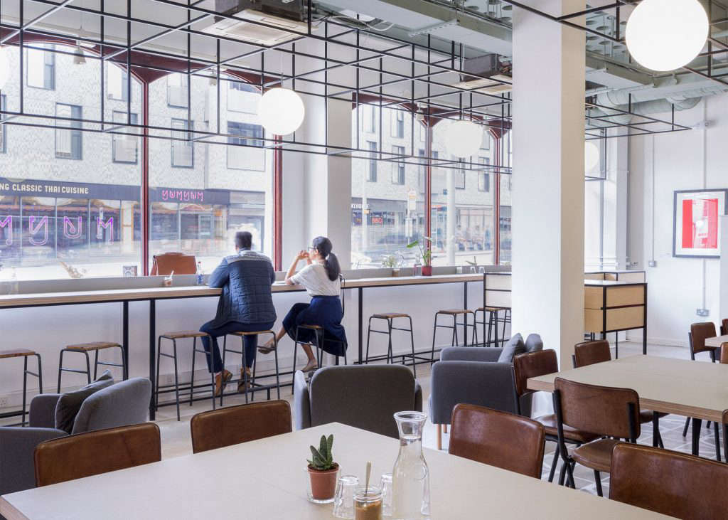 Trend Alert 5 Shared Workspaces Gone Upscale Walthamstow Central Parade gort scott architects Remodelista