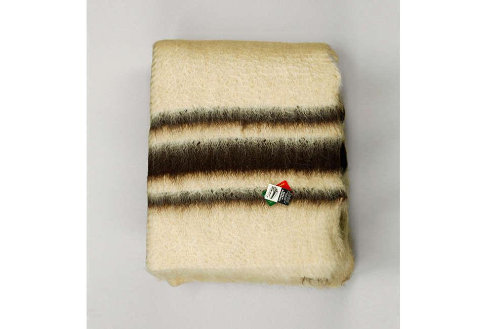 a vida portuguesa brown striped papa blanket 22