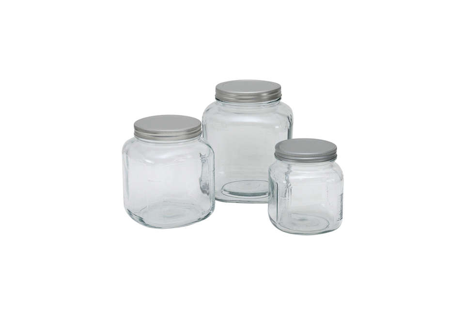 Anchor Hocking Glass Canister Sets