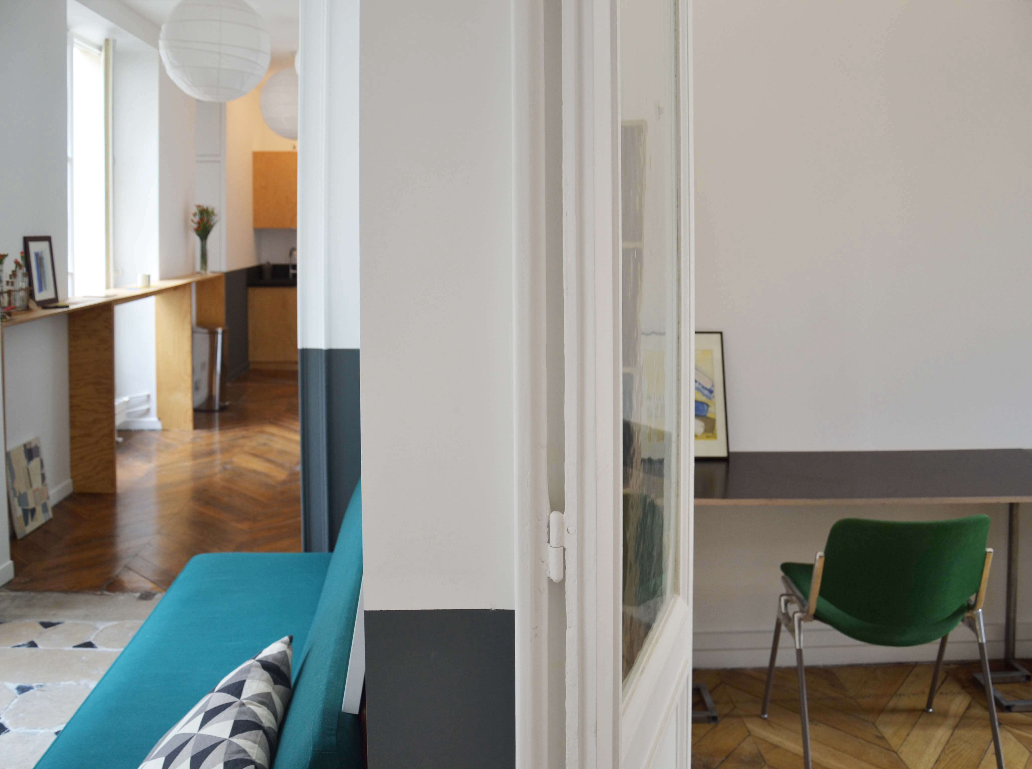 Trend Alert 5 Shared Workspaces Gone Upscale View of Desk and Hallway at Artichaut Paris