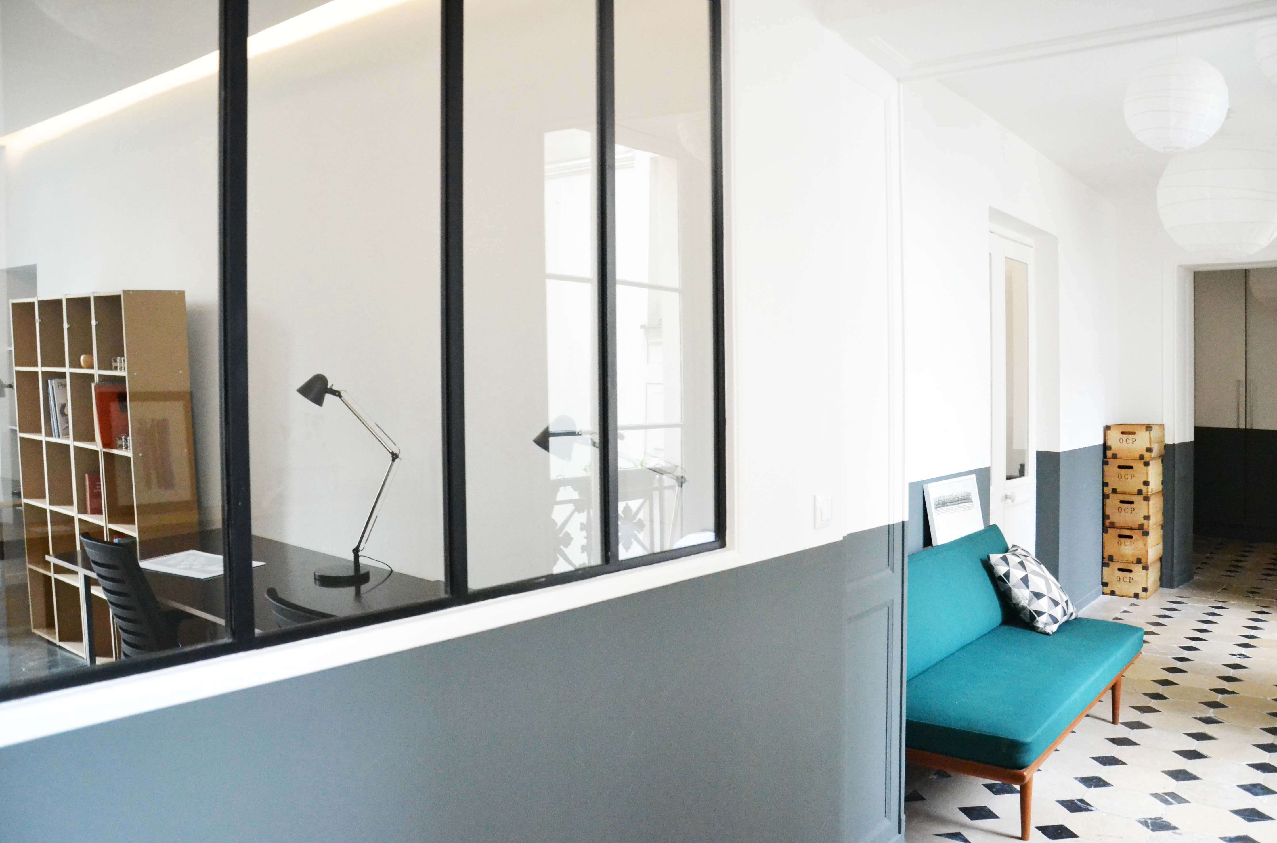 Trend Alert 5 Shared Workspaces Gone Upscale Hallway and Couch at Artichaut Paris